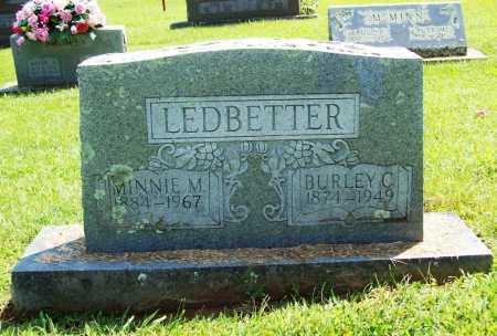 LEDBETTER, BURLEY C. - Madison County, Arkansas | BURLEY C. LEDBETTER - Arkansas Gravestone Photos