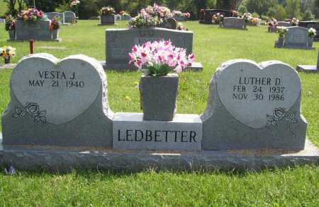 LEDBETTER, LUTHER DALE - Madison County, Arkansas | LUTHER DALE LEDBETTER - Arkansas Gravestone Photos