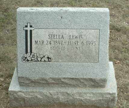 LEWIS, STELLA JANE - Madison County, Arkansas | STELLA JANE LEWIS - Arkansas Gravestone Photos