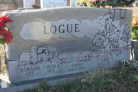 LOGUE, JAY E. - Madison County, Arkansas | JAY E. LOGUE - Arkansas Gravestone Photos
