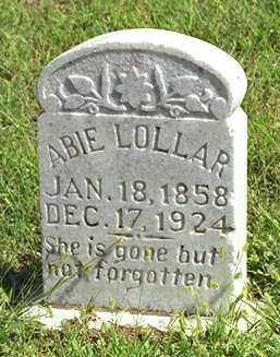 "LOLLAR, ABIGAIL ""ABIE"" - Madison County, Arkansas 