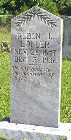 LOLLER, RUBEN L. - Madison County, Arkansas | RUBEN L. LOLLER - Arkansas Gravestone Photos