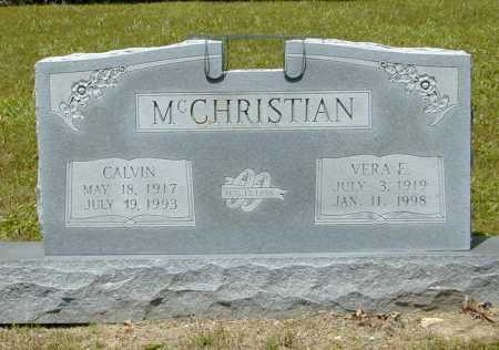 MCCHRISTIAN, VERA E. - Madison County, Arkansas | VERA E. MCCHRISTIAN - Arkansas Gravestone Photos