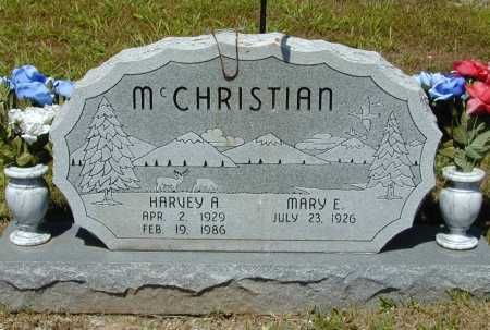 MCCHRISTIAN, HARVEY A. - Madison County, Arkansas | HARVEY A. MCCHRISTIAN - Arkansas Gravestone Photos