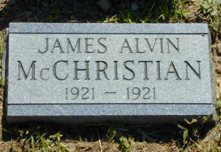 MCCHRISTIAN, JAMES ALVIN - Madison County, Arkansas | JAMES ALVIN MCCHRISTIAN - Arkansas Gravestone Photos