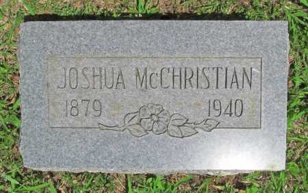MCCHRISTIAN, JOSHUA - Madison County, Arkansas | JOSHUA MCCHRISTIAN - Arkansas Gravestone Photos