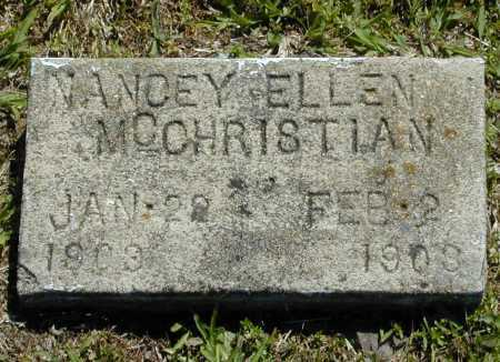 MCCHRISTIAN, NANCEY ELLEN - Madison County, Arkansas | NANCEY ELLEN MCCHRISTIAN - Arkansas Gravestone Photos