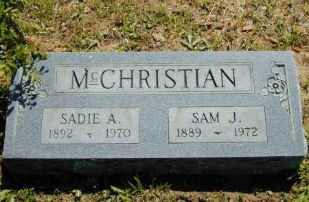 MCCHRISTIAN, SAM J. - Madison County, Arkansas | SAM J. MCCHRISTIAN - Arkansas Gravestone Photos