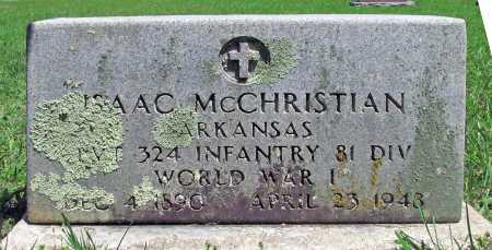 MCCHRISTIAN (VETERAN WWI), ISAAC - Madison County, Arkansas | ISAAC MCCHRISTIAN (VETERAN WWI) - Arkansas Gravestone Photos