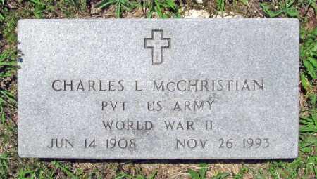 MCCHRISTIAN (VETERAN WWII), CHARLES L. - Madison County, Arkansas | CHARLES L. MCCHRISTIAN (VETERAN WWII) - Arkansas Gravestone Photos