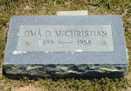 MCCHRISTIAN, OMA O. - Madison County, Arkansas | OMA O. MCCHRISTIAN - Arkansas Gravestone Photos