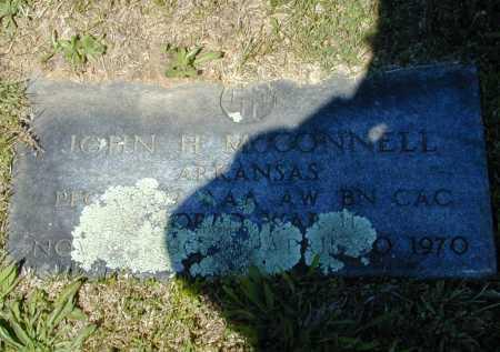 MCCONNELL (VETERAN WWII), JOHN HENRY - Madison County, Arkansas | JOHN HENRY MCCONNELL (VETERAN WWII) - Arkansas Gravestone Photos