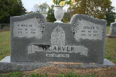 MCCARVER, DENVER - Madison County, Arkansas | DENVER MCCARVER - Arkansas Gravestone Photos