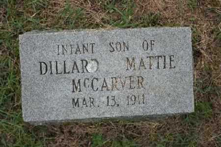 MCCARVER, INFANT SON - Madison County, Arkansas | INFANT SON MCCARVER - Arkansas Gravestone Photos