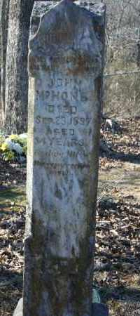 MCHONE, JOHN - Madison County, Arkansas | JOHN MCHONE - Arkansas Gravestone Photos