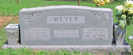 MEYER, VIRGIE OPAL - Madison County, Arkansas | VIRGIE OPAL MEYER - Arkansas Gravestone Photos