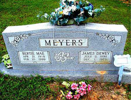 MEYERS, BERTIE  MAE - Madison County, Arkansas | BERTIE  MAE MEYERS - Arkansas Gravestone Photos