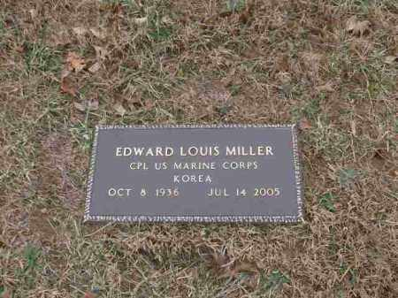 MILLER (VETERAN KOR), EDWARD LOUIS - Madison County, Arkansas | EDWARD LOUIS MILLER (VETERAN KOR) - Arkansas Gravestone Photos