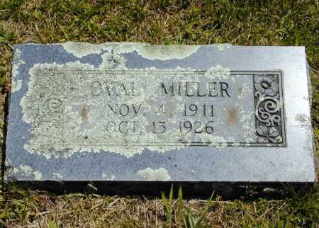 MILLER, OVAL - Madison County, Arkansas | OVAL MILLER - Arkansas Gravestone Photos