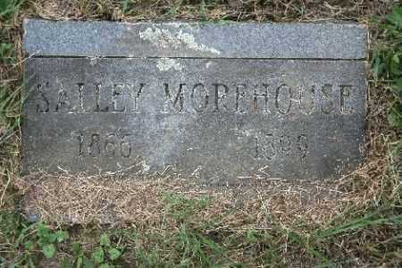 MOREHOUSE, SALLEY - Madison County, Arkansas | SALLEY MOREHOUSE - Arkansas Gravestone Photos
