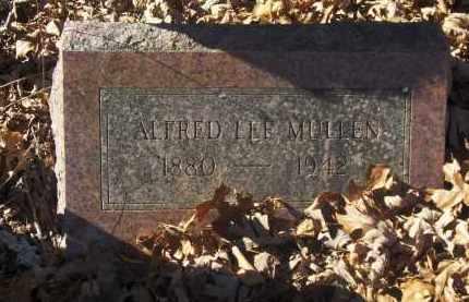 MULLEN, ALFRED LEE - Madison County, Arkansas | ALFRED LEE MULLEN - Arkansas Gravestone Photos