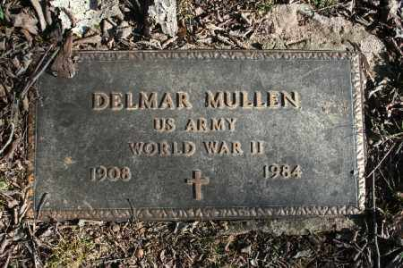 MULLEN (VETERAN WWII), DELMAR - Madison County, Arkansas | DELMAR MULLEN (VETERAN WWII) - Arkansas Gravestone Photos