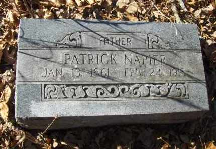 NAPIER, PATRICK - Madison County, Arkansas | PATRICK NAPIER - Arkansas Gravestone Photos