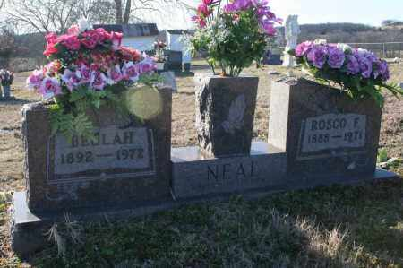 NEAL, ROSCO F. - Madison County, Arkansas | ROSCO F. NEAL - Arkansas Gravestone Photos