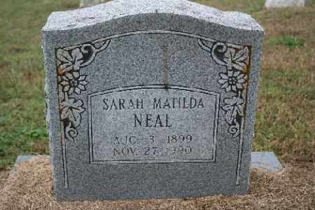 NEAL, SARAH MATILDA - Madison County, Arkansas | SARAH MATILDA NEAL - Arkansas Gravestone Photos