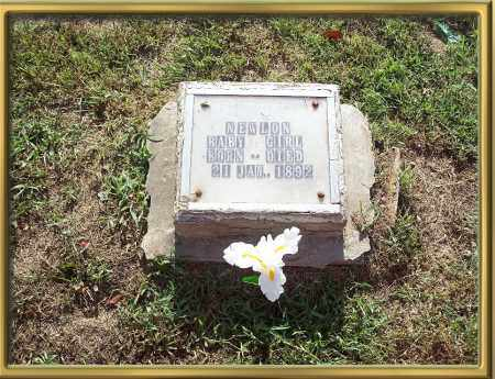 NEWLON, BABY GIRL - Madison County, Arkansas | BABY GIRL NEWLON - Arkansas Gravestone Photos
