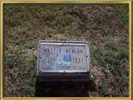 NEWLON, MATTIE A. - Madison County, Arkansas | MATTIE A. NEWLON - Arkansas Gravestone Photos