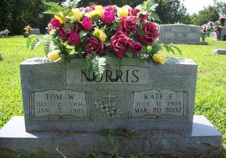 NORRIS, KATE E. - Madison County, Arkansas | KATE E. NORRIS - Arkansas Gravestone Photos