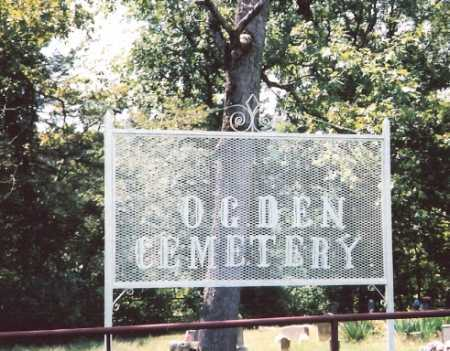 *OGDEN CEMETERY SIGN,  - Madison County, Arkansas |  *OGDEN CEMETERY SIGN - Arkansas Gravestone Photos