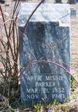 PARKER, ARTIE MISSIE - Madison County, Arkansas | ARTIE MISSIE PARKER - Arkansas Gravestone Photos