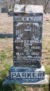 PARKER, JOHN GILBERT - Madison County, Arkansas | JOHN GILBERT PARKER - Arkansas Gravestone Photos