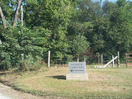 *PATRICK CEMETERY ENTRANCE,  - Madison County, Arkansas    *PATRICK CEMETERY ENTRANCE - Arkansas Gravestone Photos