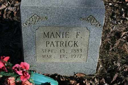 PATRICK, MANIE F. - Madison County, Arkansas | MANIE F. PATRICK - Arkansas Gravestone Photos