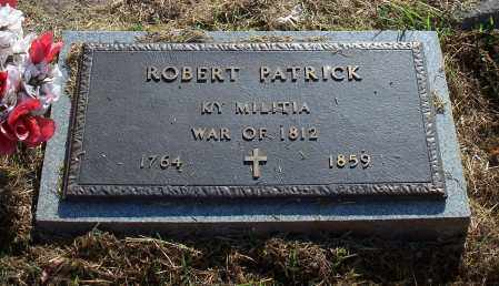 PATRICK (VETERAN 1812), ROBERT - Madison County, Arkansas | ROBERT PATRICK (VETERAN 1812) - Arkansas Gravestone Photos