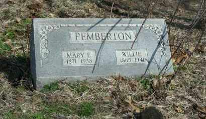 PEMBERTON, WILLIAM 'WILLIE' - Madison County, Arkansas | WILLIAM 'WILLIE' PEMBERTON - Arkansas Gravestone Photos