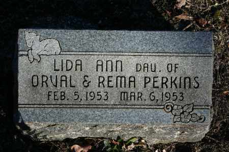 PERKINS, LIDA ANN - Madison County, Arkansas | LIDA ANN PERKINS - Arkansas Gravestone Photos