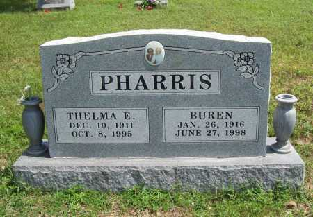 PHARRIS, THELMA ETHYLEEN - Madison County, Arkansas | THELMA ETHYLEEN PHARRIS - Arkansas Gravestone Photos