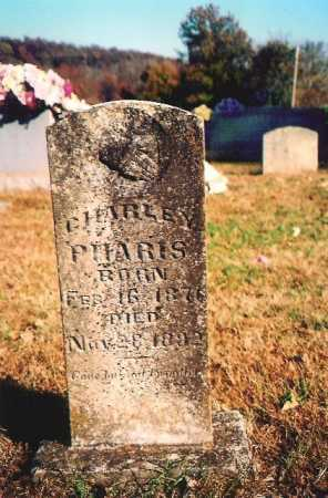 PHARRIS, CHARLEY - Madison County, Arkansas | CHARLEY PHARRIS - Arkansas Gravestone Photos