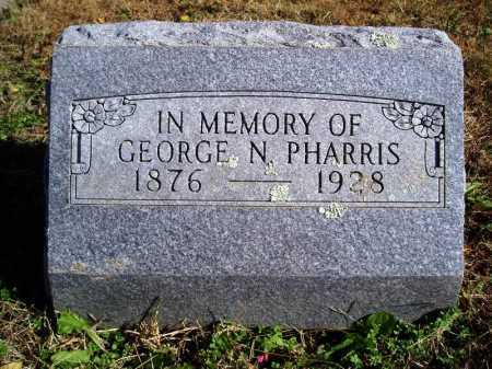 PHARRIS, GEORGE NEWTON - Madison County, Arkansas | GEORGE NEWTON PHARRIS - Arkansas Gravestone Photos