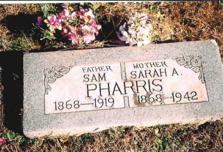 PHARRIS, SAMUEL H. - Madison County, Arkansas | SAMUEL H. PHARRIS - Arkansas Gravestone Photos
