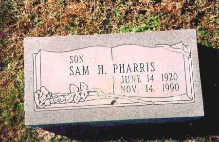 PHARRIS, SAMUEL HUGH - Madison County, Arkansas | SAMUEL HUGH PHARRIS - Arkansas Gravestone Photos
