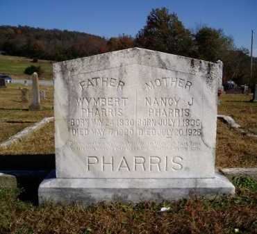 PHARRIS, NANCY JANE BELLE - Madison County, Arkansas | NANCY JANE BELLE PHARRIS - Arkansas Gravestone Photos