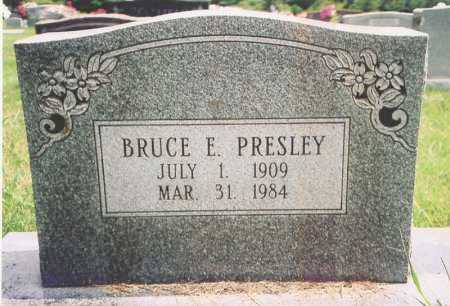 PRESLEY, BRUCE E. - Madison County, Arkansas | BRUCE E. PRESLEY - Arkansas Gravestone Photos