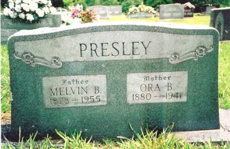 PRESLEY, MELVIN B. - Madison County, Arkansas | MELVIN B. PRESLEY - Arkansas Gravestone Photos