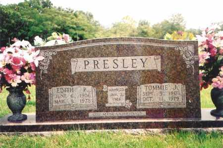PRESLEY, TOMMIE J. - Madison County, Arkansas | TOMMIE J. PRESLEY - Arkansas Gravestone Photos