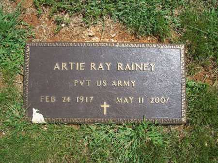 RAINEY (VETERAN WWII), ARTIE RAY - Madison County, Arkansas | ARTIE RAY RAINEY (VETERAN WWII) - Arkansas Gravestone Photos